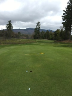 The views have a way of distracting you from making putts...